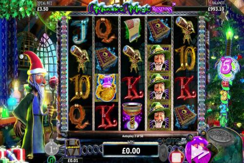 Merlins Magic Respins Xmas - Rizk Casino
