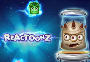 Image of Reactoonz slot