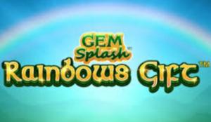 Image of Gem Splash Rainbows Gift slot