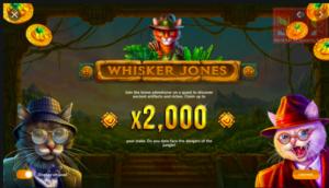Image of Whisker Jones slot