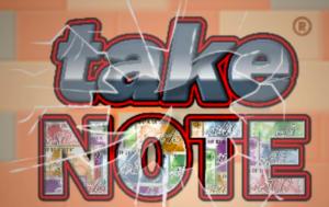 Image of Take Note slot
