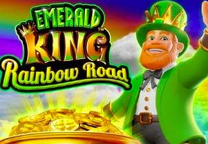 Image of Emerald King: Rainbow Road slot